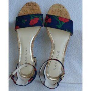 Navy & Poppy Shoe